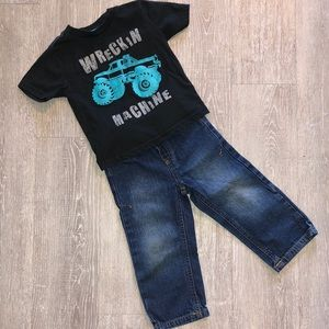 18/24m Boys Lucky Jeans outfit